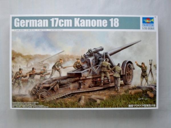 02313 GERMAN 17cm KANONE 18