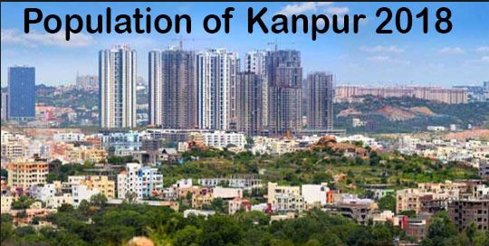 Kanpur Population in 2018