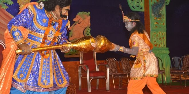 Dhanu Yatra concludes with the killing of Kansa