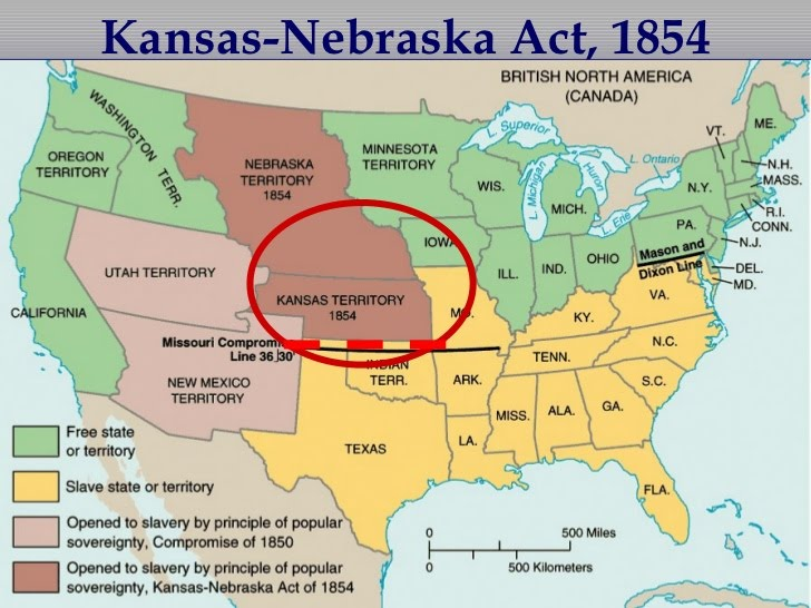 kansas-nebraska act - Liberal Dictionary