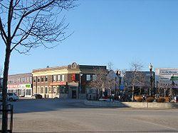 Town centre of Kapuskasing
