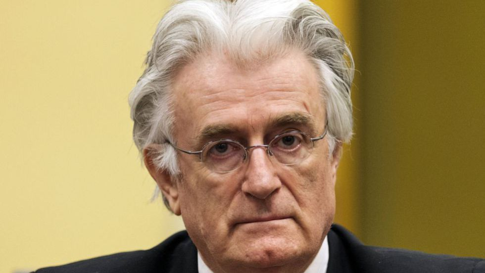 El serbobosnio Karadzic, condenado a 40 años por el genocidio de Srebrenica  | Internacional | EL PAÍS