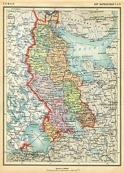 karelian autonomous republic