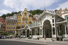 The Market Colonnade in Karlovy Vary
