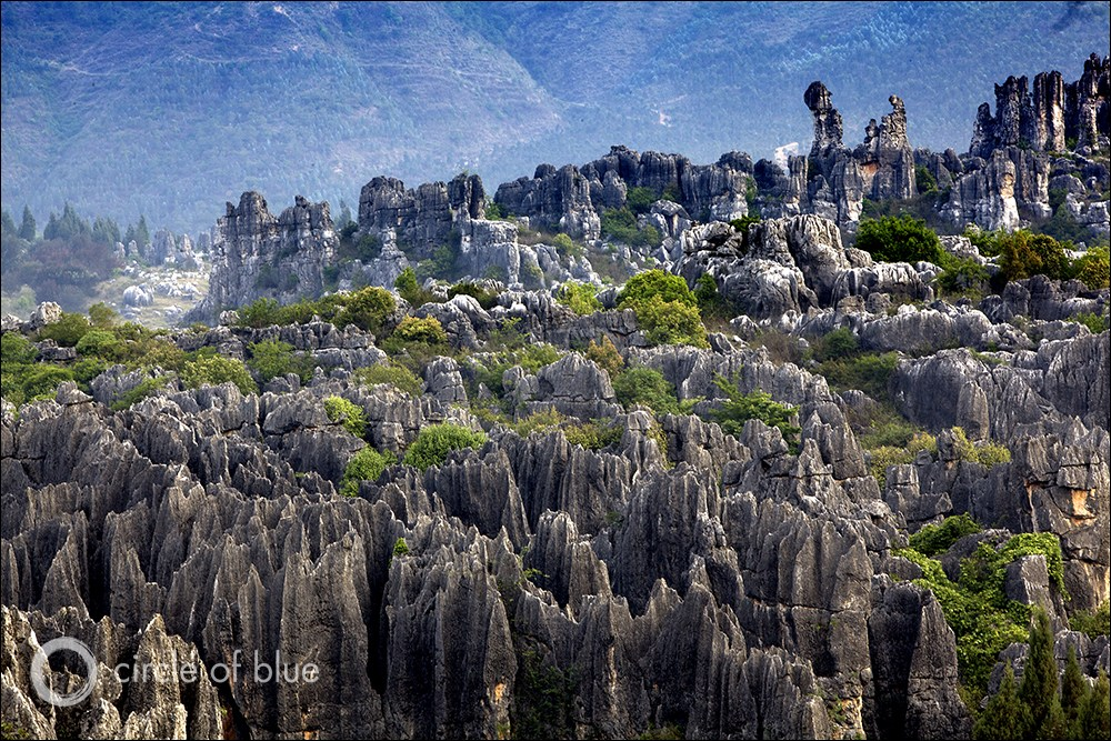Karst Landscapes in China, Across the Continents