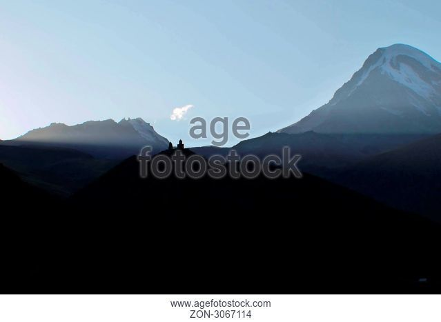 Berg Kazbek in Georgien