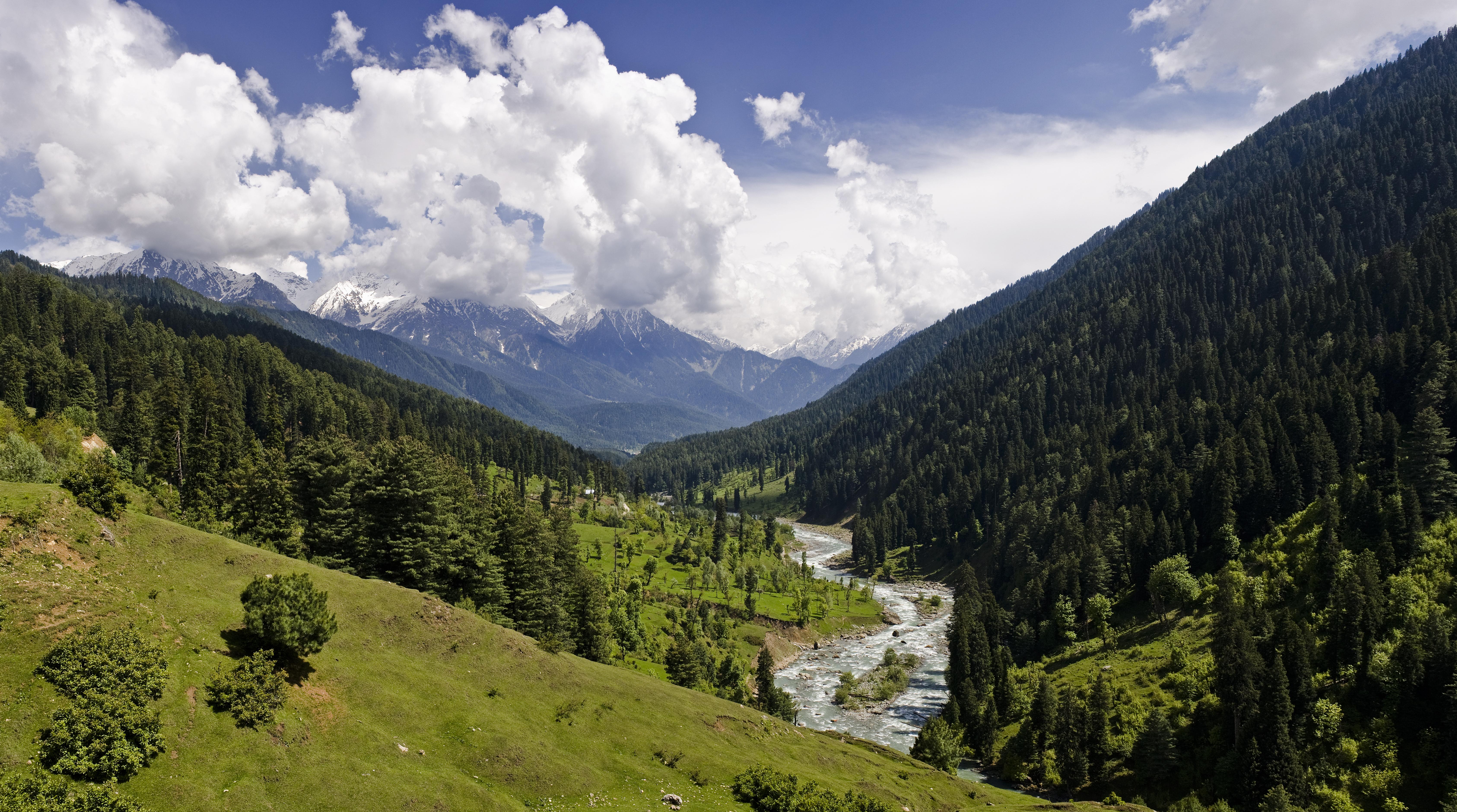 Pahalgam Valley, Kashmir.