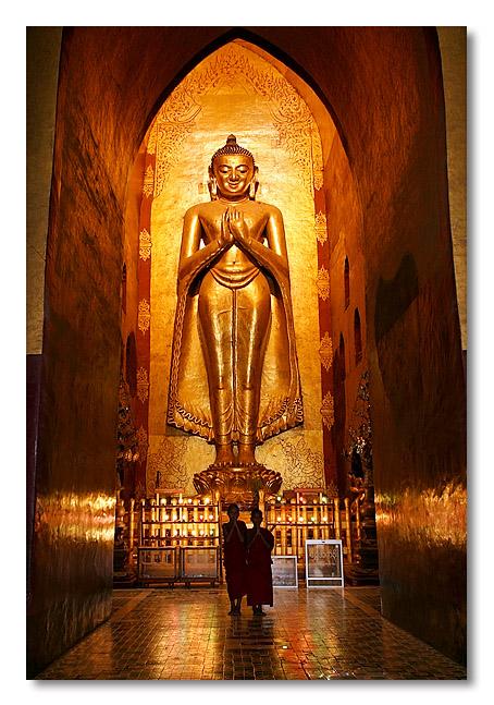 Kassapa Buddha - Bagan, Chin