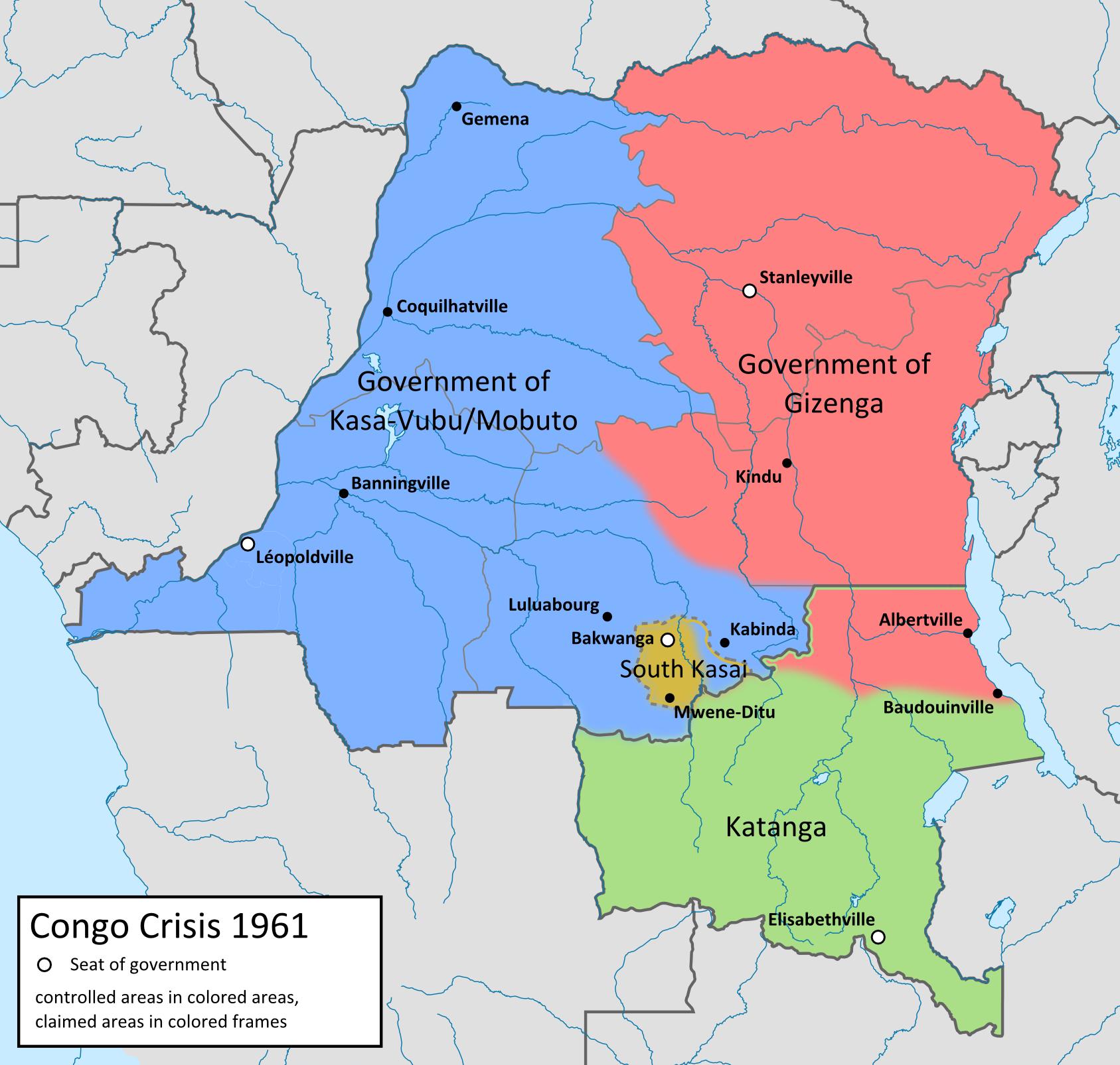Katanga in green (1961)