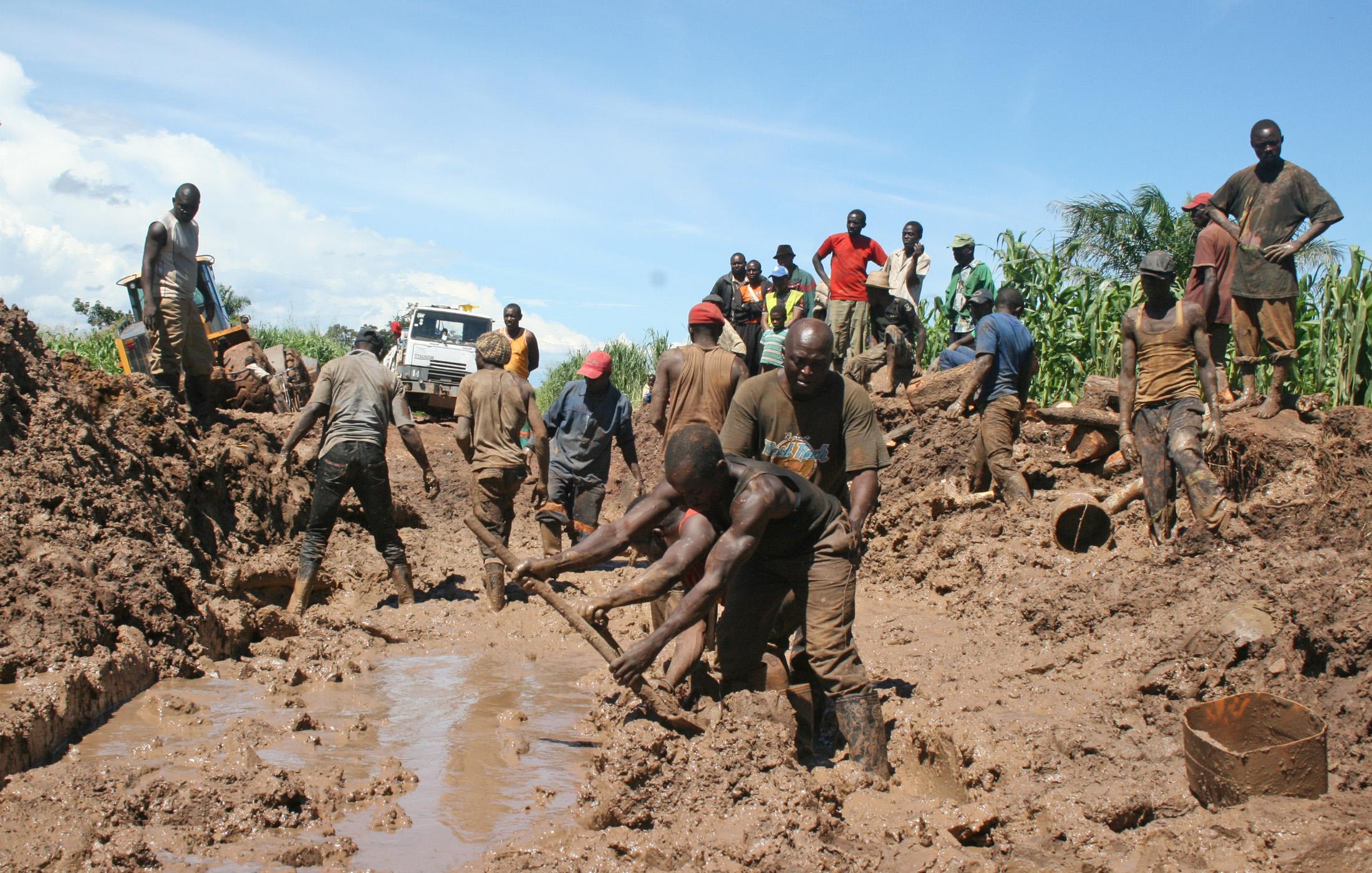 Poverty amid mining riches in Katanga
