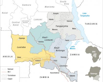 Map of Katanga CRISIS GROUP