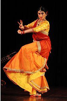 Shinjini Kulkarni performing Kathak.