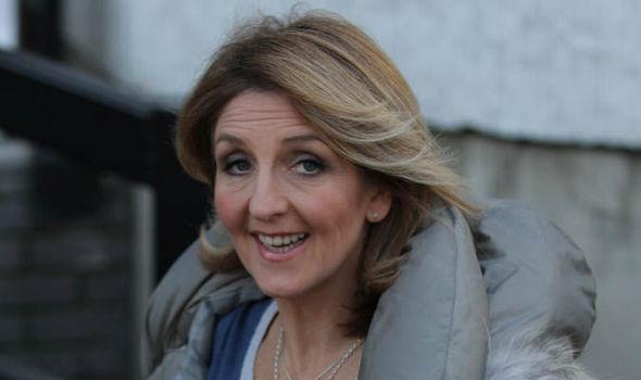 Tv host Kaye Adams