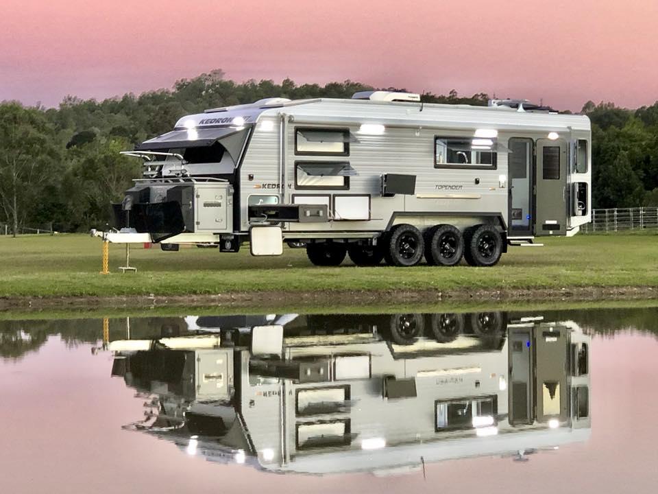 Kedron Caravans Unveils Amazing Tri-axle Caravan – Video