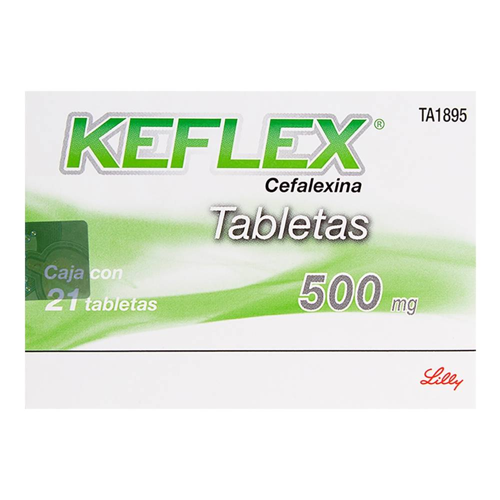 Keflex 500 mg, 21 tabletas