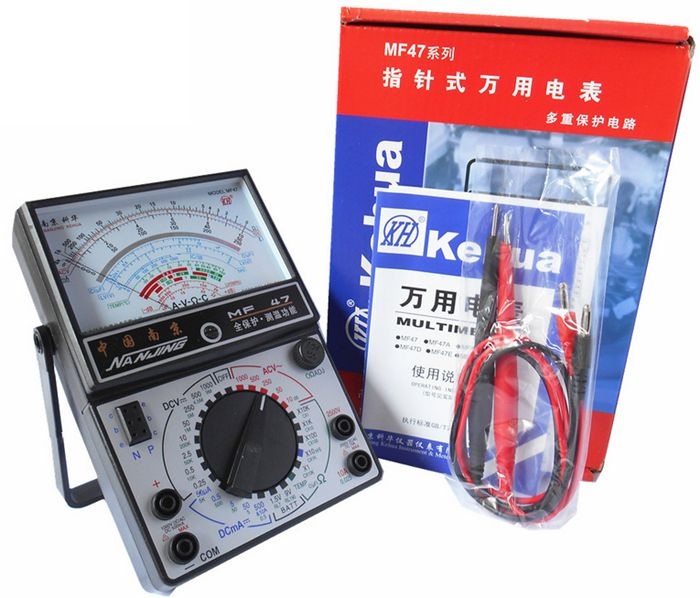KEHUA MF 47type analog multimeter / fully functional / AC circuit to  determine the line of fire.-in Multimeters from Tools on Traveller Location |  Alibaba Group