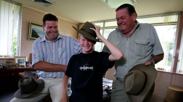 8d942f5b Akubra hats: Keeping it in the family – BBC News. 🔊 Listen to this. Three  generations of Keirs