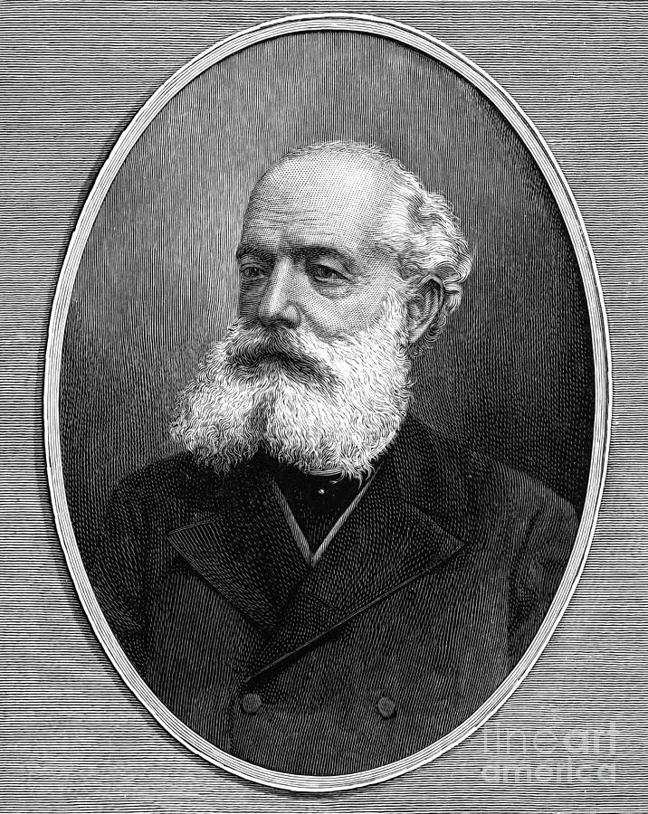 19th Century Photograph - Kekule Von Stradonitz by Granger