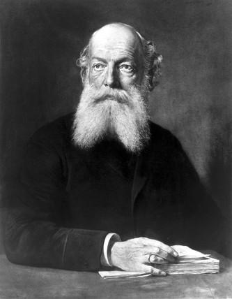 Friedrich August Kekule von Stradonitz, German organic chemist, c 1880s.