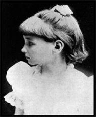 Helen Keller a la edad de 7 años