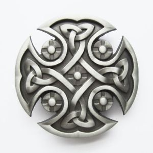 Image is loading Original-Celtic-Keltic-Iron-Cross-Western-Metal-Fashion-