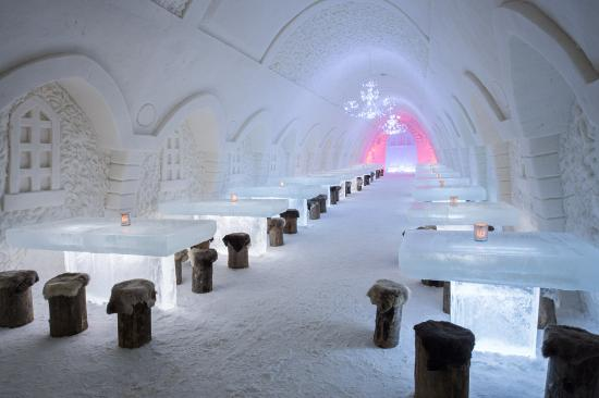 Snowhotel Of Kemi: SnowRestaurant, Ball room