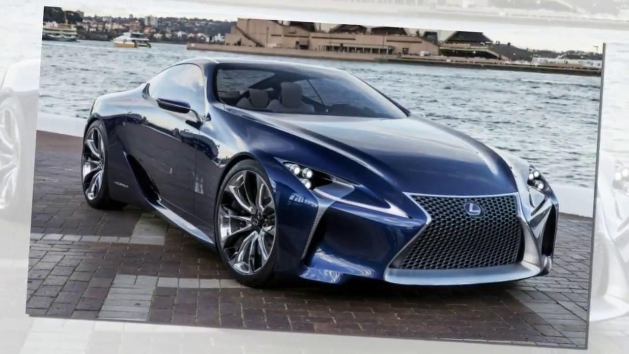 レクサス 新型 LEXUS LCF プレミアムラグジュアリークーペ 東京モーターショー2017発表! 2018年発売!