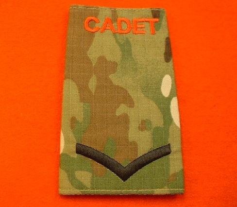 Quality Army Cadet Force Black L/CPL Multi Terrain Rank Slide ( ACF Lance  Corporal