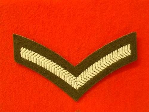 L/CPL Chevrons ( Old Style Number 2 Dress Lance Corporal Stripes )