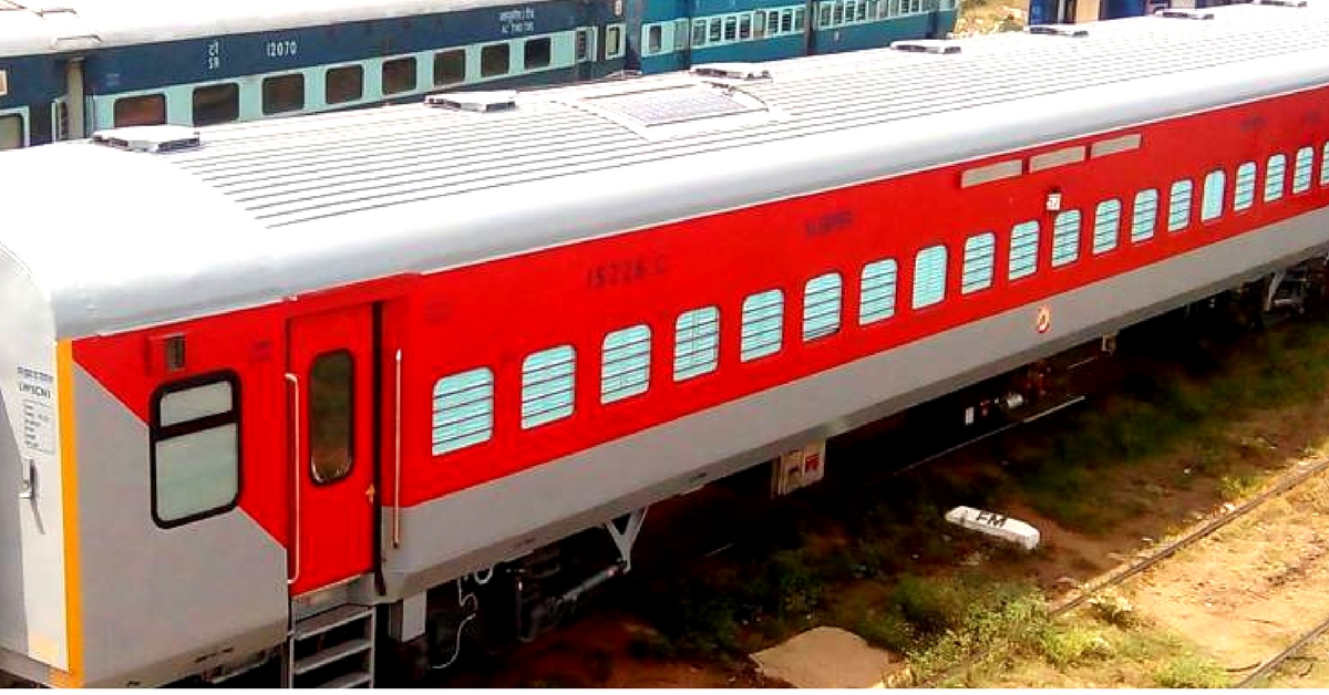 LINKE HOFMANN BUSCH (LHB) coaches reportedly have a higher passenger  capacity. Representative image