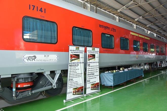 Indian railways, railways lhb, lhb coaches