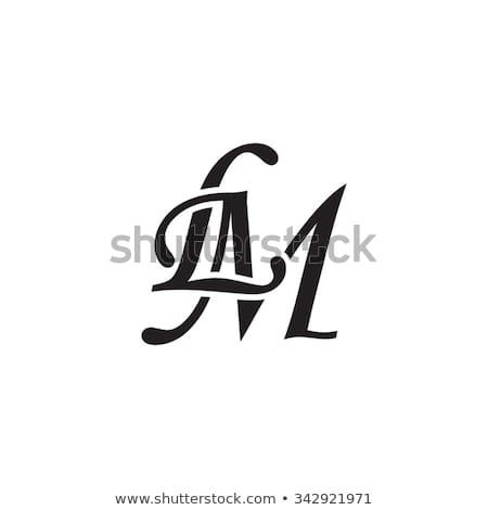 LM initial monogram logo