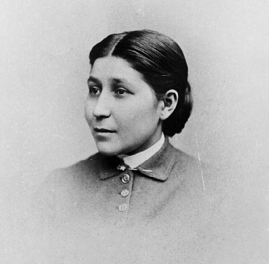 Susan La Flesche Picotte in a head and shoulders, right pose. From  collections of