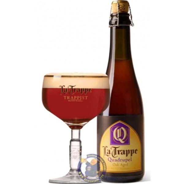 La Trappe Quadrupel OAK AGED 10° - 37,5 cL - Trappist beers -
