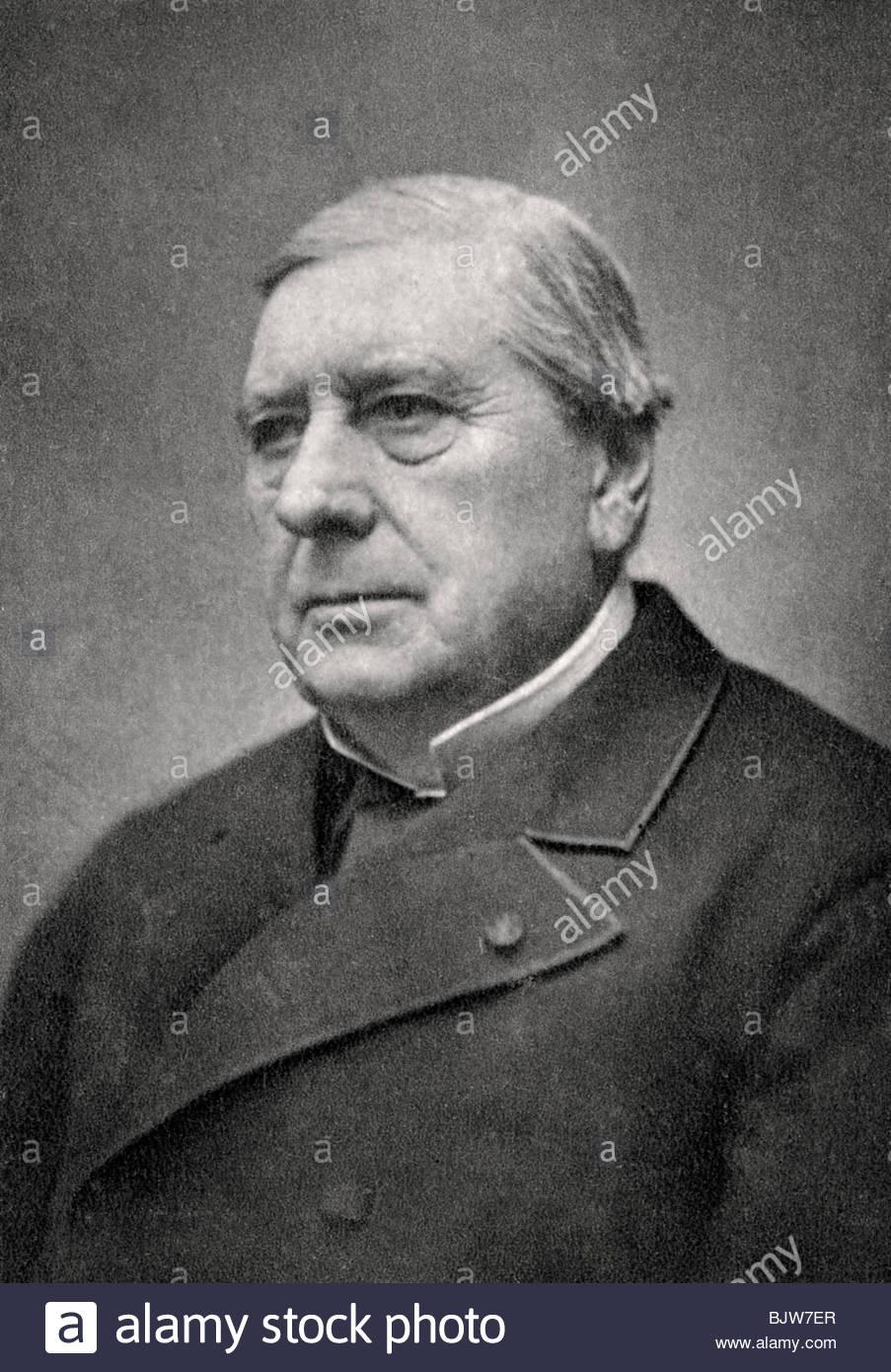Eugene Labiche dirigido Marín, el dramaturgo francés, 1879. Imagen De Stock