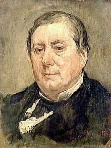 Portrait of Eugène Marin Labiche by Marcellin Desboutin