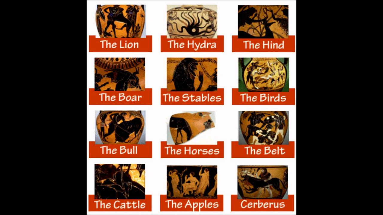 The Twelve Labors of Hercules (Mythology Monday)