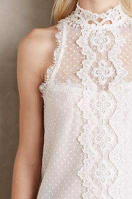 lace into