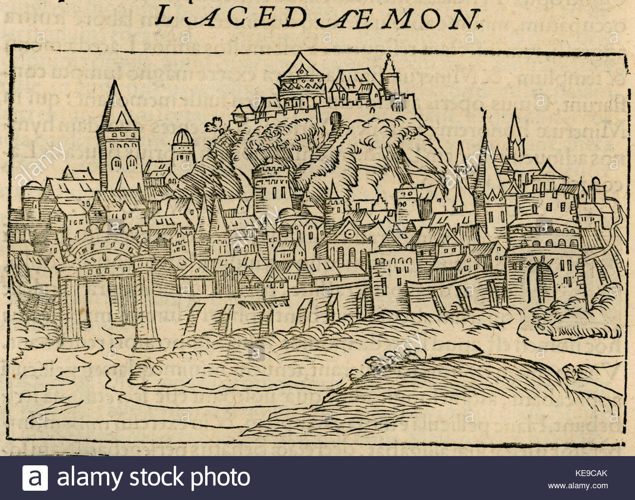 Lacedaemon Gerbelius Nicolas 1545