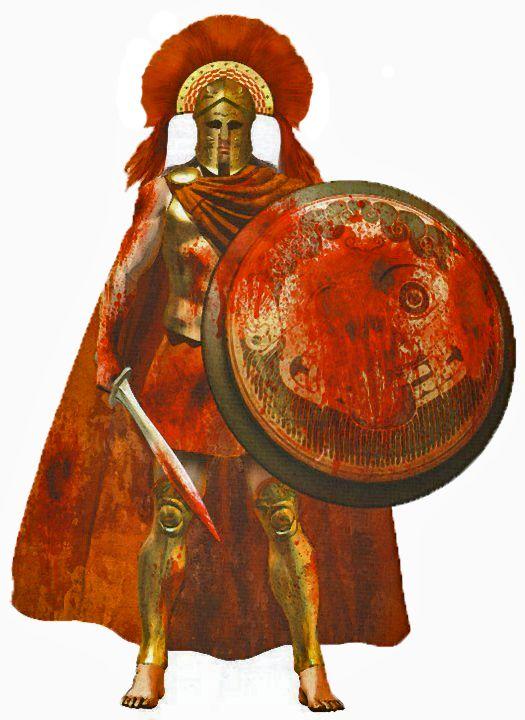 Chris Giannopoulos Lacedaemonian (Spartan) Hoplite Commander
