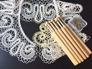 Image is loading lace-kit-for-Russian-bobbin-lace-making-New