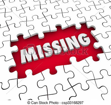 ausente, palabra, lacking, perdido, rompecabezas, solución, pedazos,  solucionar,