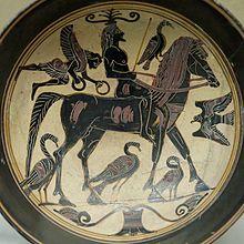 Laconian vase painting
