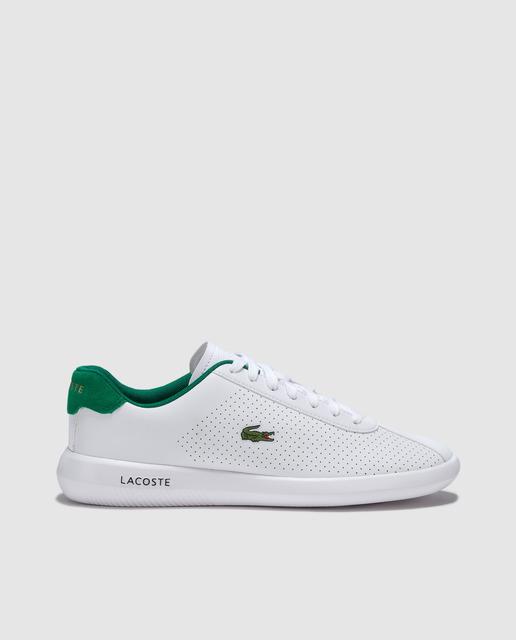 7dc3d28ae5 Zapatillas deportivas de hombre Lacoste de color blanco con logo