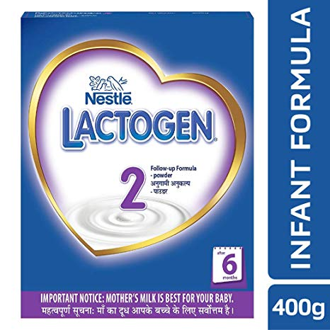 Nestle Lactogen 2 Follow-Up Formula Powder - after 6 months, Stage 2,