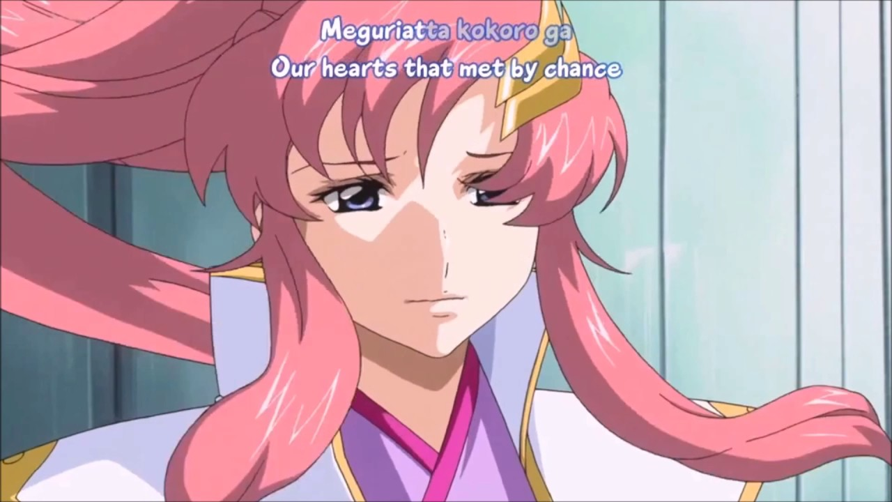 lacus and kira sad moment