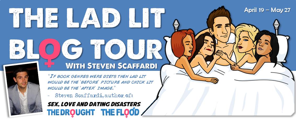 Lad Lit, Blog Tour, Lad Lit Blog Tour, Steven Scaffardi