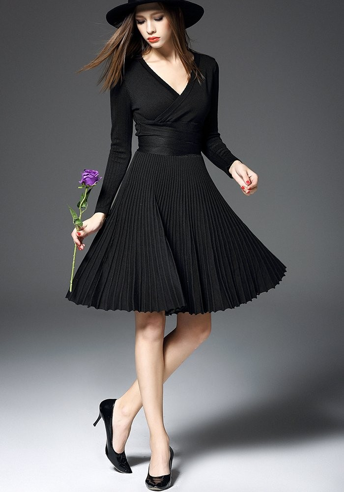 Soft knitted dress Lady V