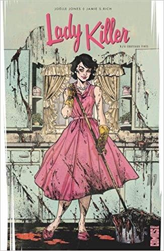 Lady Killer - Tome 01: À couteaux tirés (Comics): Amazon.es: Jamie S. Rich,  Joëlle Jones: Libros en idiomas extranjeros