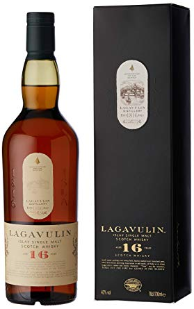 Lagavulin 16 Years Old Single Malt Scotch Whisky, 70cl: Traveller Location.uk:  Grocery